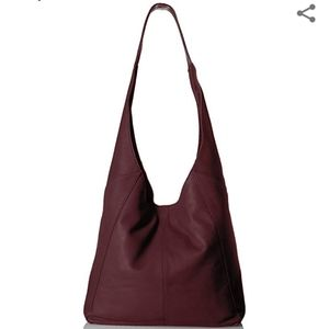 Lucky Brand Patti leather hobo
